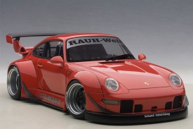 AUTOart PORSCHE 911 RWB 993 (RED/GUN GREY WHEELS)