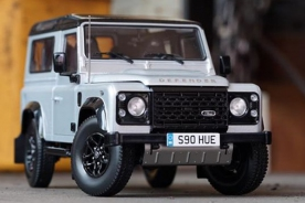 Almost Real Land Rover Defender 90 - 2.000.000 Edtion - Silver