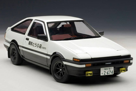 "AUTOart TOYOTA SPRINTER TRUENO (AE86) NEW ANIMATION FILM INITIAL D ""LEGEND 1"""